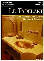 Le Tadelakt - Une technique millénaire d'enduit à la chaux de Jamal Daddis