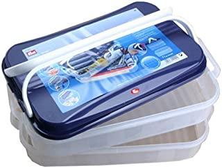 Prym 612422 Click Plastic Jumbo Sewing Storage Supplement Compartment 40x26/½x8cm