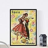 Vintage Poster Nacnic. Vintage Poster Europa. Reisen nach