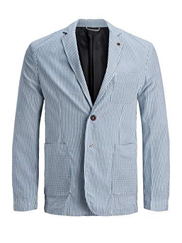 Jack & Jones JPRBLAKAYDEN Blazer Chaqueta de Traje de Negocios, Azul Claro, 48 para Hombre