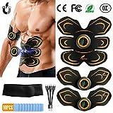BuTure Electrostimulateur Musculaire, Ceinture Abdominale Electrostimulation EMS Stimulateur...