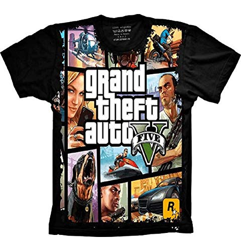 Camiseta Grand Theft Auto V GTA 5