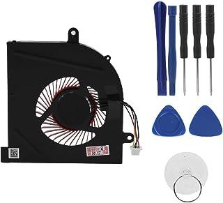ASHATA Ventilador de Refrigeración de Laptop,Reemplazo de Ventilador de Enfriamiento 4 Pines para Computadora Portátil,Compatible con MSI GS63VR/GS73VR