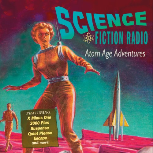 Science Fiction Radio audiobook cover art