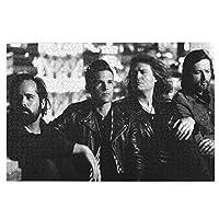 キラーズポスター The Killers Poster 1000個の 木製ピース ジグソーパズル ワンピース (50x75cm) ジグソーピース 立体パズル 木製 パズル 人気 ピースジグソーパズル