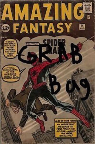 Marvel / DC 1 Comic GRAB BAG Golden Silver Age Amazing Fantasy 15 Spider-man Avengers X-Men Batman SEE DESCRIPTION