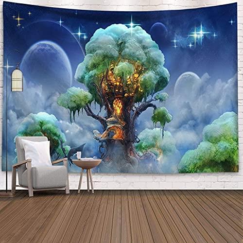 YDyun Tapiz, decoración de Dormitorio, Alfombrilla para Yoga, Toalla para Playa, Tela de Fondo de Arte estético Tela Colgante