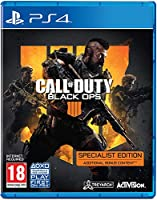 Call of Duty Black Ops 4 - Specialist Edition (PS4) (輸入版)