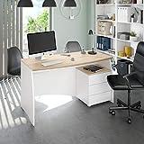 Zoom IMG-1 arreditaly scrivania con 3 cassetti