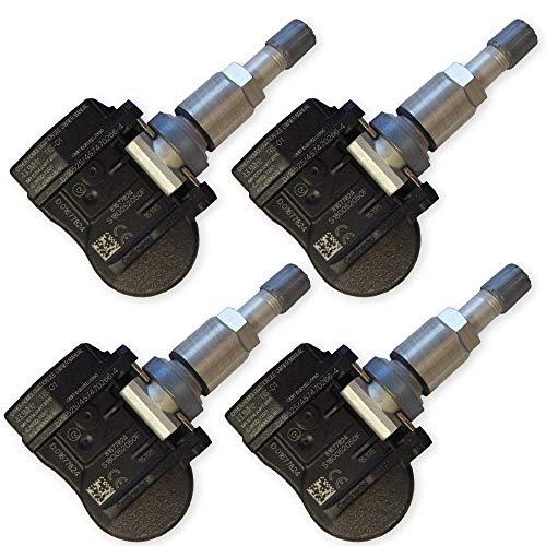 4 sensori di pressione pneumatici Continental/VDO per Jeep Compass Grand Cherokee Renegade, sistema di controllo pressione pneumatici 6314