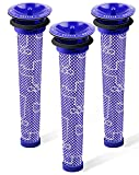 3Pack Replacement Pre Filters for Dyson - Vacuum Filter Compatible Dyson V6 V7 V8 DC59 DC58 Replaces Part 965661 01 (3 Pack)