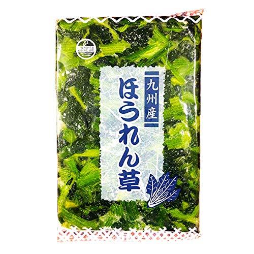【冷凍】京果食品 カットほうれん草 BQF 1kg 業務用 カット野菜