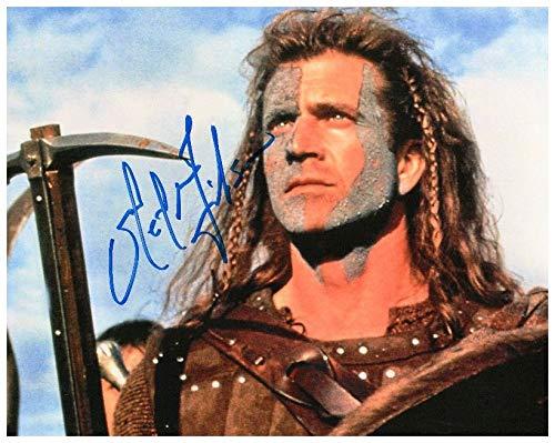 FM Mel Gibson - Braveheart Signiert Autogramme 21cm x 29.7cm Plakat Foto