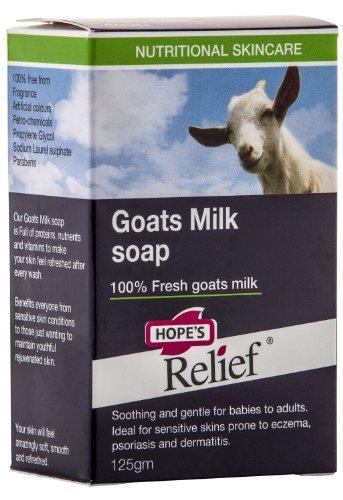 Hope's Relief Jabón de Leche de Cabra 125 g