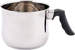 Wilson JY-074 Milk Pan, Silver/Black, 14 cm, Stainless Steel