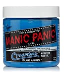 Manic Panic Blue Angel Hair Dye – Creamtone Perfect Pastel - Semi-Permanent Hair Color - Light, Sky Pastel Blue Hair Dye - Vegan, PPD & Ammonia-Free - For Coloring Hair on Women & Men
