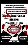 Second Edition New Format APTIS READING: - 10 APTIS Reading Practice Tests, 4 Reading Techniques, tips, video and more! (APTIS General - Practice Tests) (English Edition)