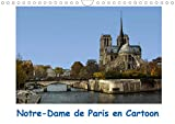 Notre-dame de paris en cartoon (calendrier