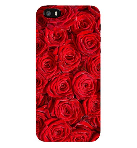 TRUEMAGNET Premium '''Red Roses'' Printed Hard Mobile Back Cover for Apple iPhone 5 /Apple iPhone 5S /Apple iPhone SE (2016), Designer & Attractive Case for Your Smartphone