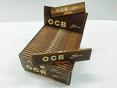 Cartine OCB non candeggiato Slim 32booklet