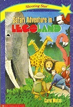 Safari Adventure in Legoland 0590458760 Book Cover