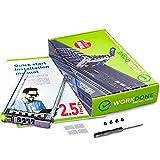 """WORKDONE Bandeja Portaunidades Caddy 2.5"""" para DELL PowerEdge - T440 T640 R330 R430 T430 R630 T630 R730 R730XD R830 R930 G176J - Soporte Cambio en Caliente (Hot-Swap) - Ahora de Fácil Instalación"""