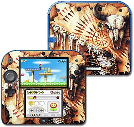 MightySkins Skin Compatible with Nintendo shop Plains Medicine 2021 autumn and winter new - 2DS