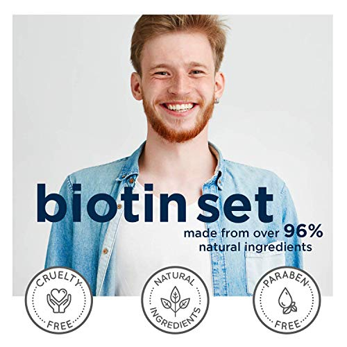 Biotin Shampoo and Conditioner Hair Loss Treatment for Thinning Hair - Hair Follicle Stimulator for...