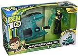 Ben 10–Veicolo Alien con Figura, Diamondhead Power Tank, Multicolore, Giochi ben20001