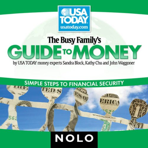 The Busy Family's Guide to Money audiobook cover art