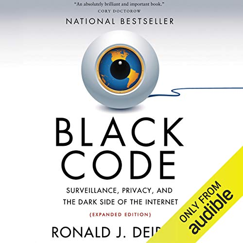 Black Code audiobook cover art