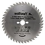 Wolfcraft 6680000 1 Lame de Scie Circulaire de Table Ø 250 Mm  Ct Alésage Ø 30 Mm...