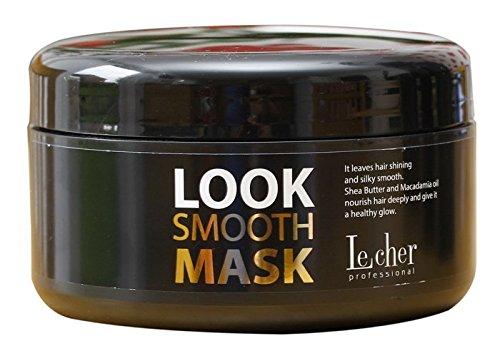 Lecher - Máscara para alisar el cabello (300 ml), aspecto profesional