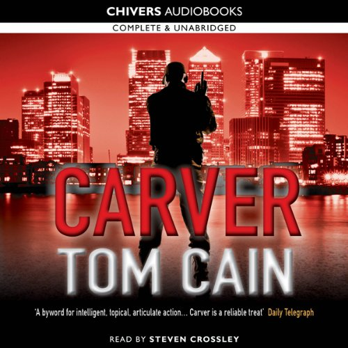 Carver audiobook cover art
