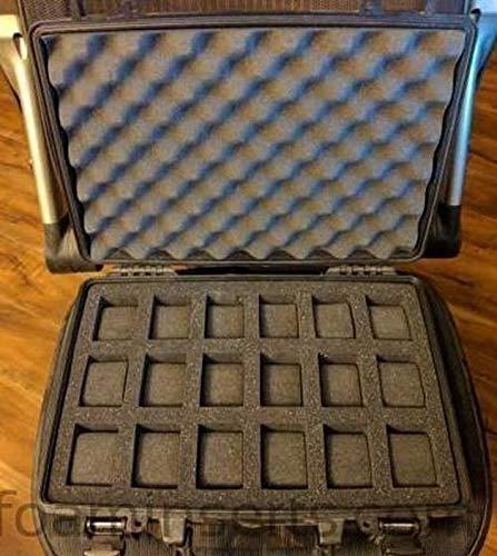 Pelican Case 1470 Inserto de Espuma Personalizado para 18 Relojes (Solo Espuma): Amazon.es: Deportes y aire libre