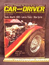 1961 61 July CAR AND DRIVER Magazine (Features: Road Test on Austin Healey Sprite II & Fiat Abarth 1000, + The Enzo Ferrari of Okie Flats, & Jaguar XKE wins first race)