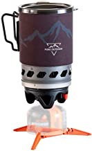 Monoprice 1.0-Liter Cooking System | Quick Boil, Portable, Push-Button Igniter - Pure Outdoor Collection