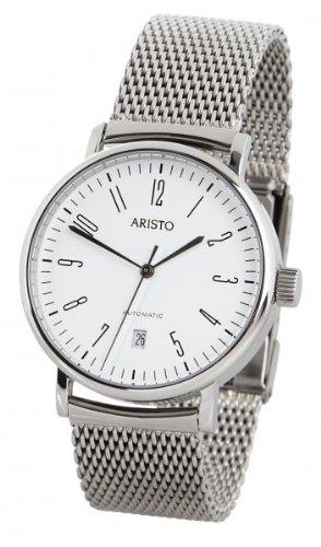 Aristo Vollmer 4H144A - Orologio da polso, cinturino in acciaio inox colore argento