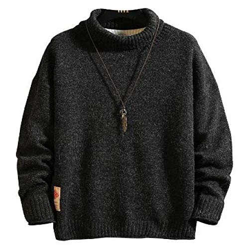 LILIZHAN Nieuwe Winter Coltrui Trui Mens Sweater Mode Ontwerper Sweater Mens Lange Mouw Sweats Ropa De Hombre Plus Size