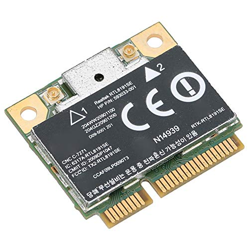 Semiter PCI-E-Netzwerkkarte, Mini Wireless Network Card, für RealTek RTL8191SE