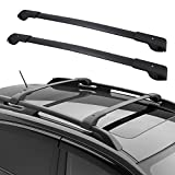YITAMOTOR Roof Rack Cross Bars Compatible for 2014-2020 Subaru Forester / 2013-2019 Crosstrek / 2012-2019 Impreza with Side Rails, Rooftop Luggage Cargo Bag Carrier Crossbars Carrying Bike Canoe Kayak