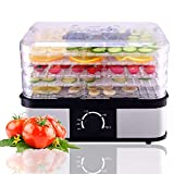 Best NEW Food Dehydrators - HAPPYGRILL Food Dehydrator Best Electric 5-Tier Home Food Review