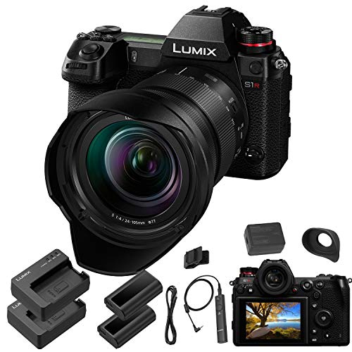 Panasonic Lumix DC-S1R Mirrorless Digital Camera...