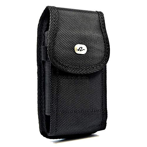 Holster für Nokia Lumia 1020oder 630, Black Vertical Rugged Large Case