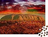 1000 piezas de rompecabezas para adultos, colores del interior de Australia en agosto, rompecabezas clásico, juego de rompecabezas, familia artística