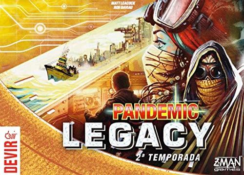 Pandemic Legacy Yellow 2ª Temporada - Devir, Multicor