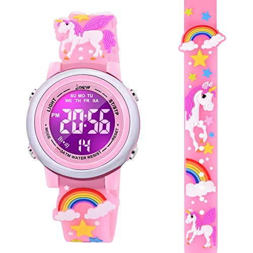 DOTODO Toys for Kids Age 4-9, Toddler Girls Watch for 3-8 Year Old Girls...
