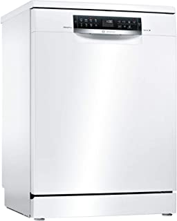 Bosch Serie 6 SMS68IW07E lavavajilla Independiente 13 cubiertos A+++ - Lavavajillas (Independiente, Tamaño completo (60 cm), Blanco, Negro, Tocar, 1,75 m)