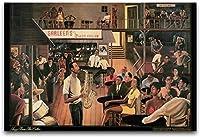 DFGAD ジグソーパズル1000ジャズセラーミュージックアートアートウォールデコレーションキッチン用
