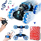 Remote Control Car , RC Cars 4WD Double Sided Driving, 2.4GHz Gesture Sensing RC Trucks, Remote Control Crawler, Climbing, Flipping, Spinning, Drifting, Christmas Gift Package for Kids and Adults
